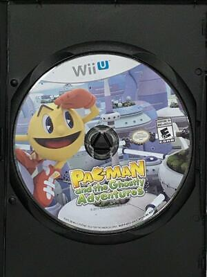 Pac-Man and the Ghostly Adventures (Nintendo Wii U, 2013) Game Disc Only
