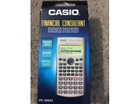 Casio FC-100v financial adviser calculator
