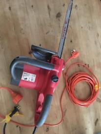 Bargain Brand new chainsaw open to offers