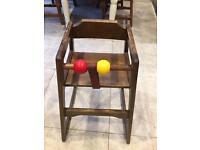 Restaurant Style- High chair