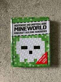 Minecraft tin + handbooks.