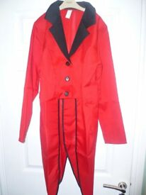 Ringmaster jacket dress up aged 10-12 years