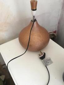 Vintage antique copper lamp Moroccan style