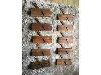 Antique wooden planes full set