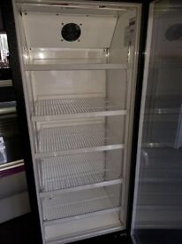 Drinks fridge upright single glass door drink display fridge bottle cooler wine cooler