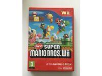 Wii Super Mario Bros game.