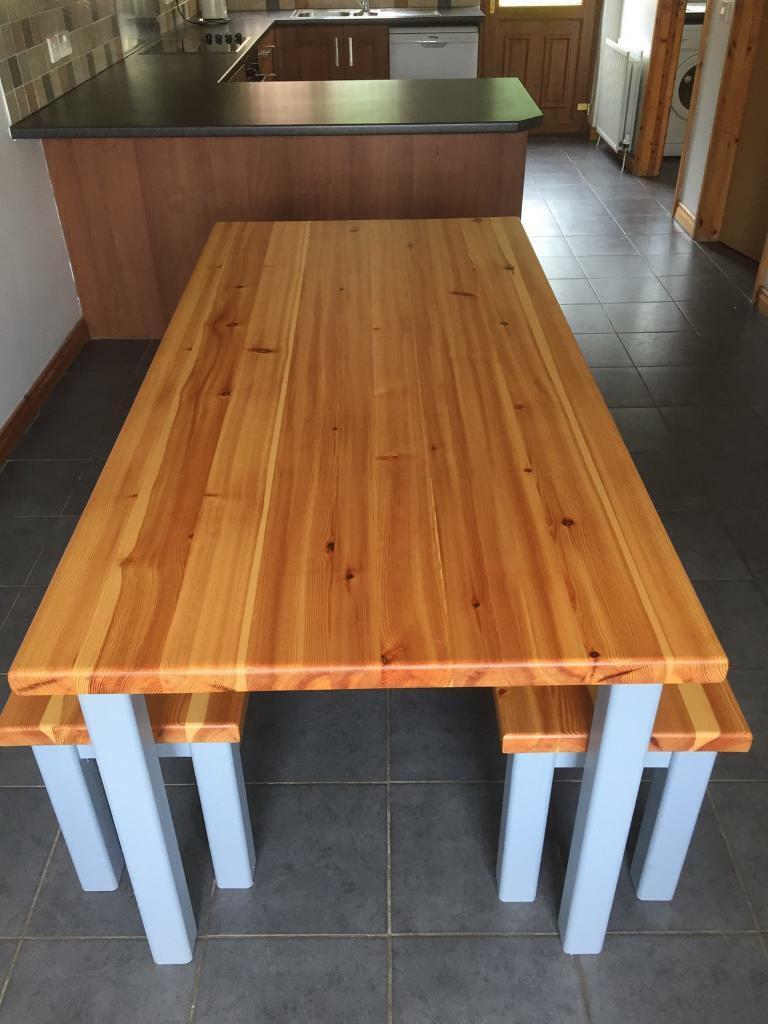 Pleasant Table And Bench Set In Antrim Road Belfast Gumtree Lamtechconsult Wood Chair Design Ideas Lamtechconsultcom