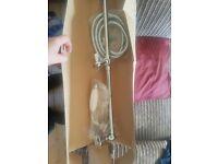 Traditional Shower rail kit