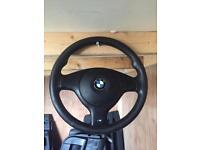 Bmw e46 m sport steering wheel
