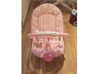 Argos Pink Baby Bouncer