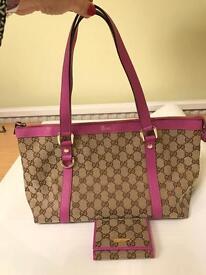 GUCCI Handbag & matching Purse FINAL REDUCTION FOR QUICK SALE