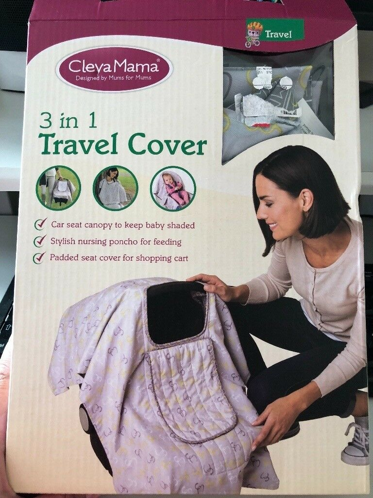 Car seat travel cover - cleva mama