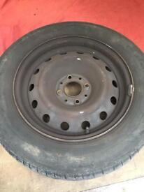 4 corsa wheel rims with tyre