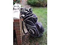 Calloway Golden Ram Golf Clubs - Bag