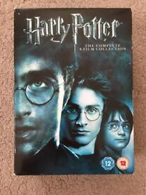 Complete 8-film Harry Potter collection