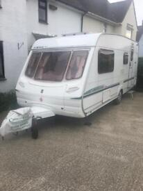 Abbey aventura 4 birth caravan