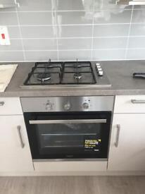 Zanussi has hob and electric oven