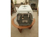 TWO Cat/small dog travel crates carrier cages - IATA Approved