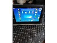 Tablet and Case.