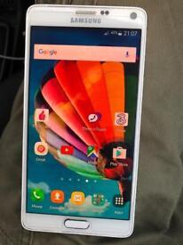 Samsung galaxy note 4 unlocked