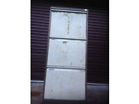 Heavy Duty Filling Cabinet - used to store tools