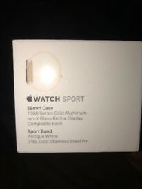 Apple Watch Sports Series 1 Antique White *Brand New Sealed*