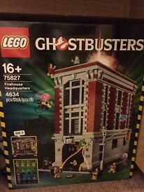 Ghostbusters firehouse lego brand new sealed