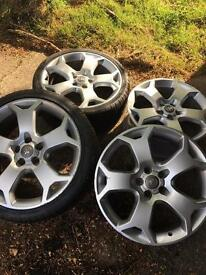 """4 x 19"""" Vauxhall Snowflake alloy wheels"""