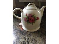 Vintage Rose Kettle Teapot