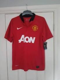 Man Utd 13/14 Home Shirt