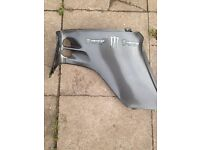 Ltz left side fairing plastic fender