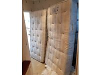 Harmony Beds 5ft King Size Zip and Link Bed with Firm Orthopaedic Mattresses