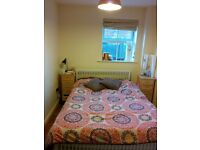 Double room with private bathroom in town
