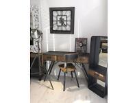Industrial Desk & Chair set (new)