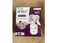 Phillips Avent natural breast pump manual