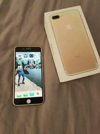 New IPhone 7 plus gold