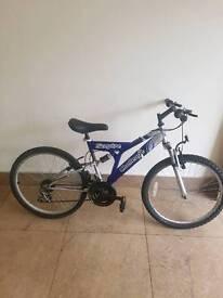 "Dual suspension mountain bike 24"" wheel"