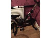 Keiser spin bike exercise bike