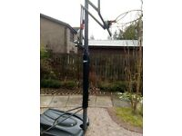 Free to a good home! Reebok Basketball Stand - adjustable to a height of 10' . Collection only