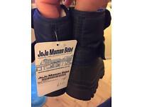 Jo Jo Maman Bebe snow boots size 3 Brand New