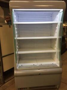 Open Air Grab and Go Refrigerated Floor Display Case Size 40 inch x 28 inch H-78 inch