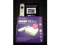 Now TV Box - Brand New