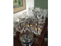 SELECTION OF QUALITY GLASSES EXCELLENT ORDER