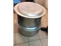Catering Cooking pan, pots £100 each.