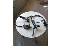 Avid DB 3 front and rear disc brake set used in good condition and fully working
