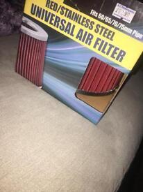 Air filter.