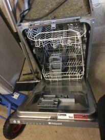 Hot point slimline intergrated dishwasher LST 216 A