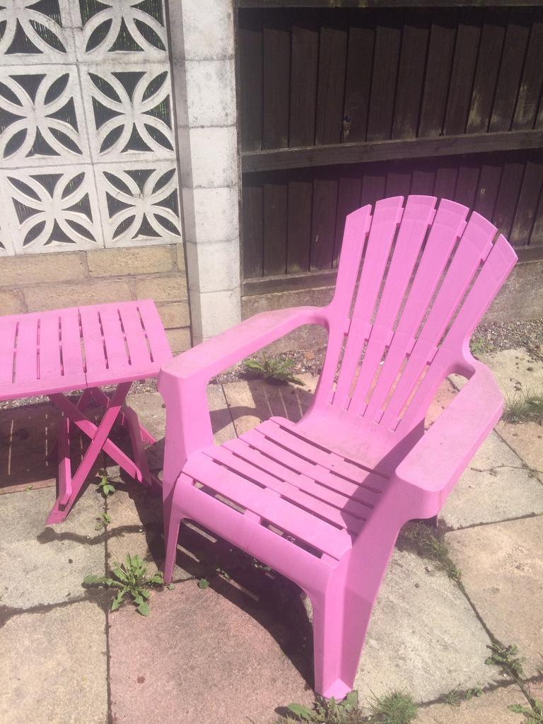 Pink Garden Furniture Pink garden furniture in eccles manchester gumtree pink garden furniture workwithnaturefo