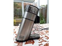 Stainless steel electric Swan coffee grinder, nut/spice mail