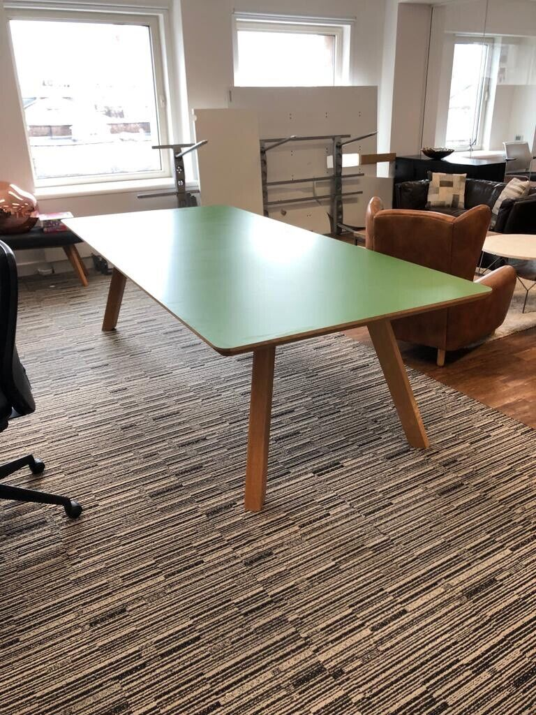 Like new 10-12 seater Asprey meeting table with 4 stool | in Worcester  Park, London | Gumtree